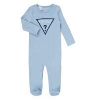 衣服 男孩 睡衣/睡裙 Guess THEROI 蓝色