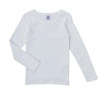 衣服 女孩 长袖T恤 Petit Bateau 小帆船 FATRE 白色
