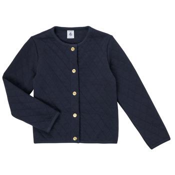 衣服 女孩 羊毛开衫 Petit Bateau 小帆船 COLYNNE 蓝色