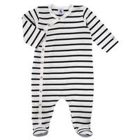 衣服 儿童 睡衣/睡裙 Petit Bateau 小帆船 ONZER 白色 / 海蓝色