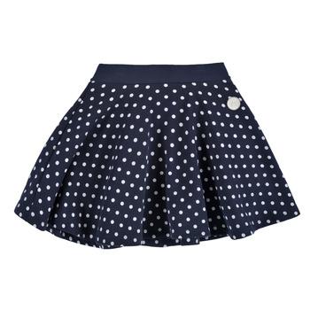 衣服 女孩 半身裙 Petit Bateau 小帆船 JOPILA 蓝色 / 白色