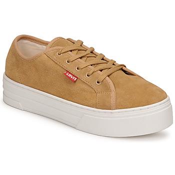 鞋子 女士 球鞋基本款 Levi's 李维斯 TIJUANA 棕色