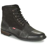 鞋子 男士 短筒靴 Levi's 李维斯 FOWLER 2.0 黑色
