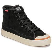 鞋子 男士 高帮鞋 Levi's 李维斯 SQUARE HIGH 黑色