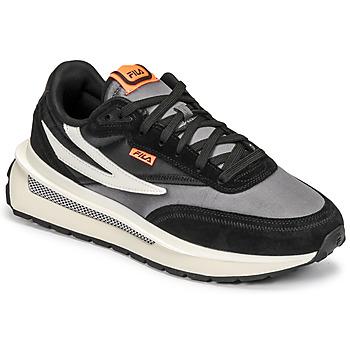 鞋子 男士 球鞋基本款 Fila RENNO 黑色