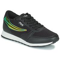 鞋子 女士 球鞋基本款 Fila ORBIT F LOW 黑色