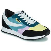 鞋子 女士 球鞋基本款 Fila ORBIT CB LOW 蓝色 / 黑色