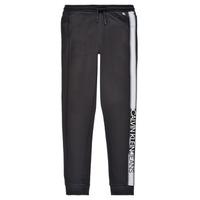 衣服 男孩 厚裤子 Calvin Klein Jeans RESPIRA 黑色