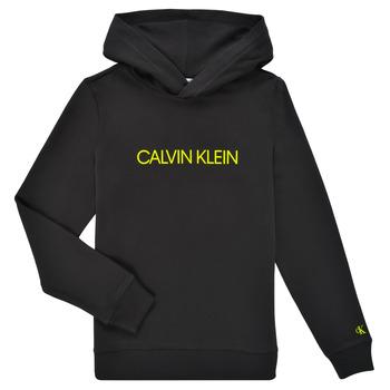 衣服 儿童 卫衣 Calvin Klein Jeans ZOPLINA 黑色