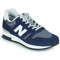 鞋子 男士 球鞋基本款 New Balance新百伦 565 蓝色 / 灰色
