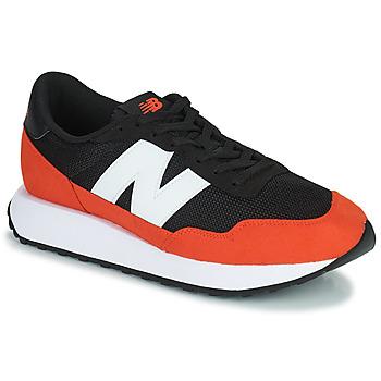 鞋子 男士 球鞋基本款 New Balance新百伦 237 黑色 / 橙色