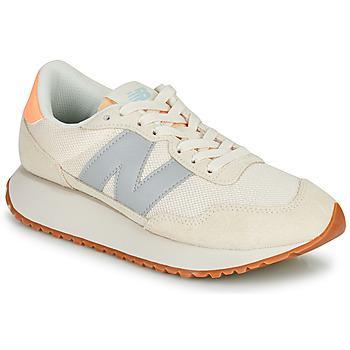 鞋子 女士 球鞋基本款 New Balance新百伦 237 米色