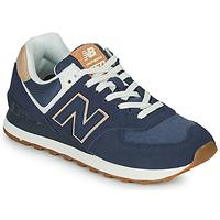 鞋子 女士 球鞋基本款 New Balance新百伦 574 蓝色