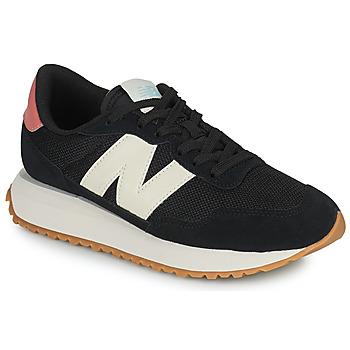鞋子 女士 球鞋基本款 New Balance新百伦 237 黑色 / 白色 / 玫瑰色