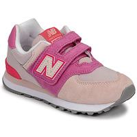 鞋子 女孩 球鞋基本款 New Balance新百伦 574 玫瑰色 / 紫罗兰