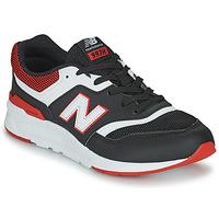 鞋子 男孩 球鞋基本款 New Balance新百伦 997 黑色 / 红色