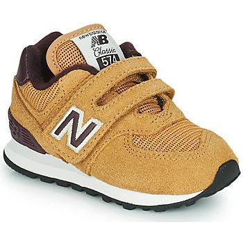 鞋子 男孩 球鞋基本款 New Balance新百伦 574 棕色