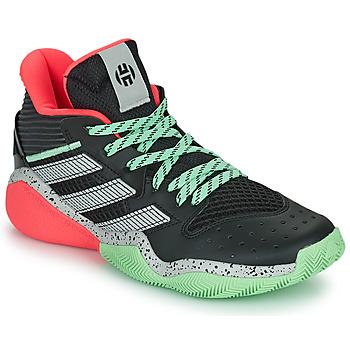 鞋子 篮球 adidas Performance 阿迪达斯运动训练 HARDEN STEPBACK 黑色 / 灰色 / 绿色