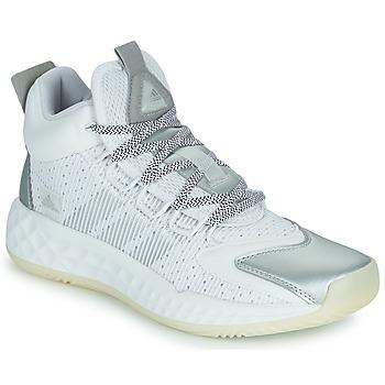 鞋子 篮球 adidas Performance 阿迪达斯运动训练 PRO BOOST MID 白色 / 银灰色