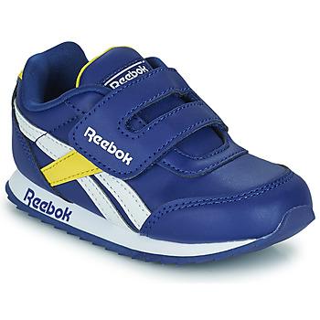 鞋子 儿童 球鞋基本款 Reebok Classic REEBOK ROYAL CLJOG 2  KC 蓝色 / 黄色 / 白色