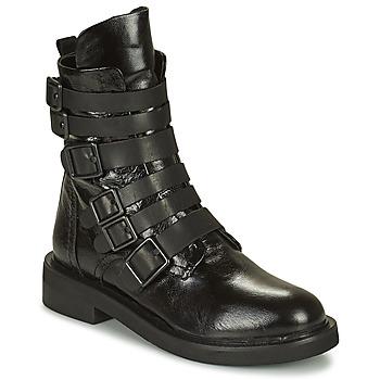 鞋子 女士 短筒靴 MIMMU MINO 黑色