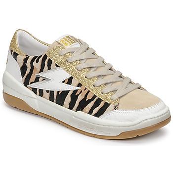 鞋子 女士 球鞋基本款 Semerdjian THEO 米色 / 金色 / 棕色