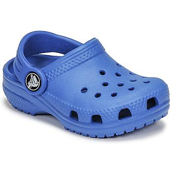 鞋子 儿童 洞洞鞋/圆头拖鞋 crocs 卡骆驰 CLASSIC CLOG K 蓝色
