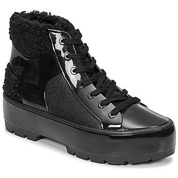 鞋子 女士 短筒靴 Melissa 梅丽莎 MELISSA FLUFFY SNEAKER AD 黑色