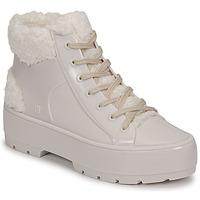 鞋子 女士 短筒靴 Melissa 梅丽莎 MELISSA FLUFFY SNEAKER AD 米色 / 白色