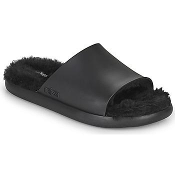 鞋子 女士 拖鞋 Melissa 梅丽莎 MELISSA FLUFFY SIDE AD 黑色