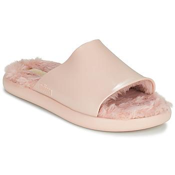 鞋子 女士 拖鞋 Melissa 梅丽莎 MELISSA FLUFFY SIDE AD 玫瑰色