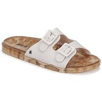 鞋子 女士 休闲凉拖/沙滩鞋 Melissa 梅丽莎 MELISSA WIDE AD 白色