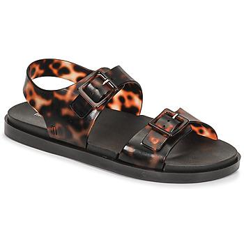 鞋子 女士 凉鞋 Melissa 梅丽莎 MELISSA WIDE SANDAL AD 棕色 / 黑色