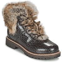 鞋子 女士 短筒靴 Kimberfeel ASTANA 棕色