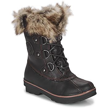 鞋子 女士 雪地靴 Kimberfeel CAMILLE 黑色