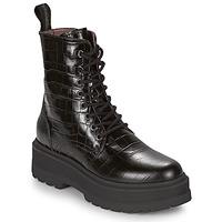 鞋子 女士 短筒靴 Nero Giardini CATALONIO 黑色