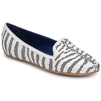 鞋子 女士 皮便鞋 Roberto Cavalli 罗伯特·卡沃利 TPS648 白色