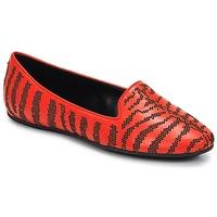 鞋子 女士 皮便鞋 Roberto Cavalli 罗伯特·卡沃利 TPS648 橙色
