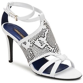 鞋子 女士 凉鞋 Roberto Cavalli 罗伯特·卡沃利 TPS016 白色