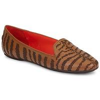 鞋子 女士 皮便鞋 Roberto Cavalli 罗伯特·卡沃利 TPS648 棕色
