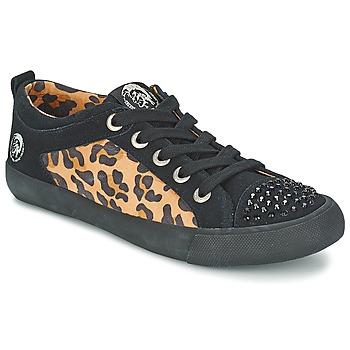 鞋子 女士 球鞋基本款 Diesel 迪赛尔 LEOPAR 黑色