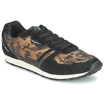 鞋子 女士 球鞋基本款 Diesel 迪赛尔 CAMOUFLAGE 棕色