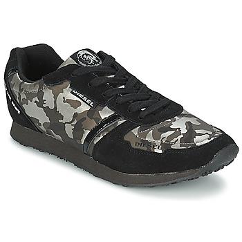 鞋子 女士 球鞋基本款 Diesel 迪赛尔 CAMOUFLAGE 黑色