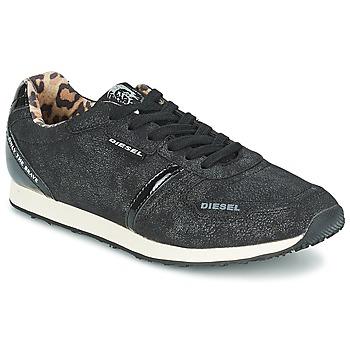 鞋子 女士 球鞋基本款 Diesel 迪赛尔 METAL 黑色