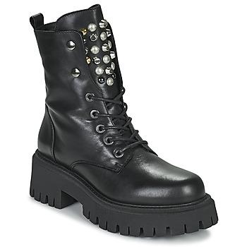 鞋子 女士 短筒靴 Sweet Lemon DONATE 黑色