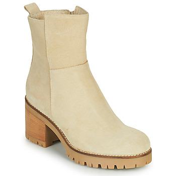 鞋子 女士 短筒靴 Sweet Lemon PIABLO 米色
