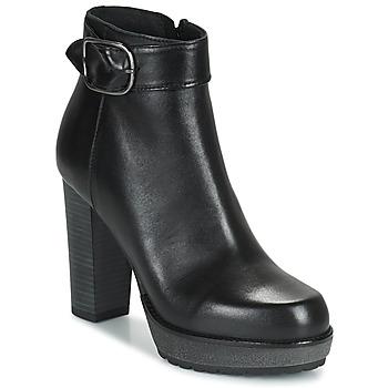 鞋子 女士 短筒靴 Sweet Lemon SEODO 黑色