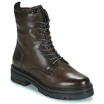 鞋子 女士 短筒靴 Mjus DOBLE LACE 灰色 / Fonce