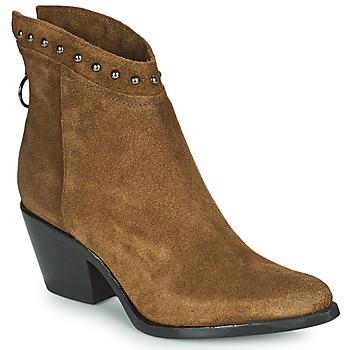 鞋子 女士 短靴 Mjus TEP 灰褐色