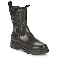 鞋子 女士 短筒靴 Mjus DOBLE SQUARE 黑色